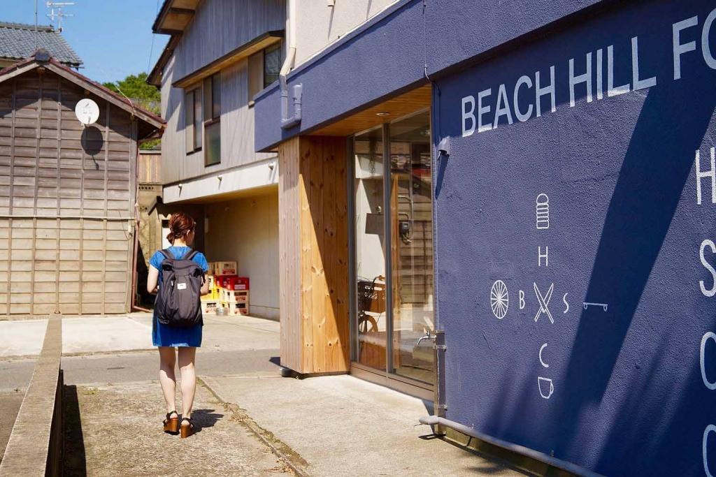 ハンバーガー,福井県三国,サンセットビーチ