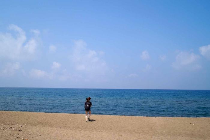 海水浴場,福井,綺麗